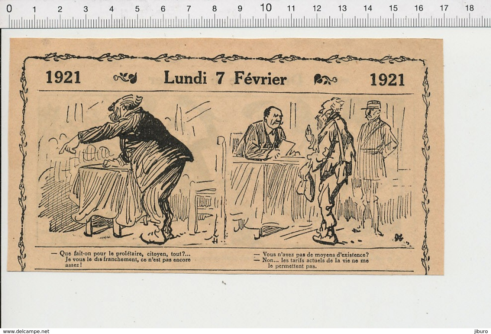 2 Scans Humour Musique Jazz-band Taxe Sur Les Pianos Tambourin  226X - Old Paper