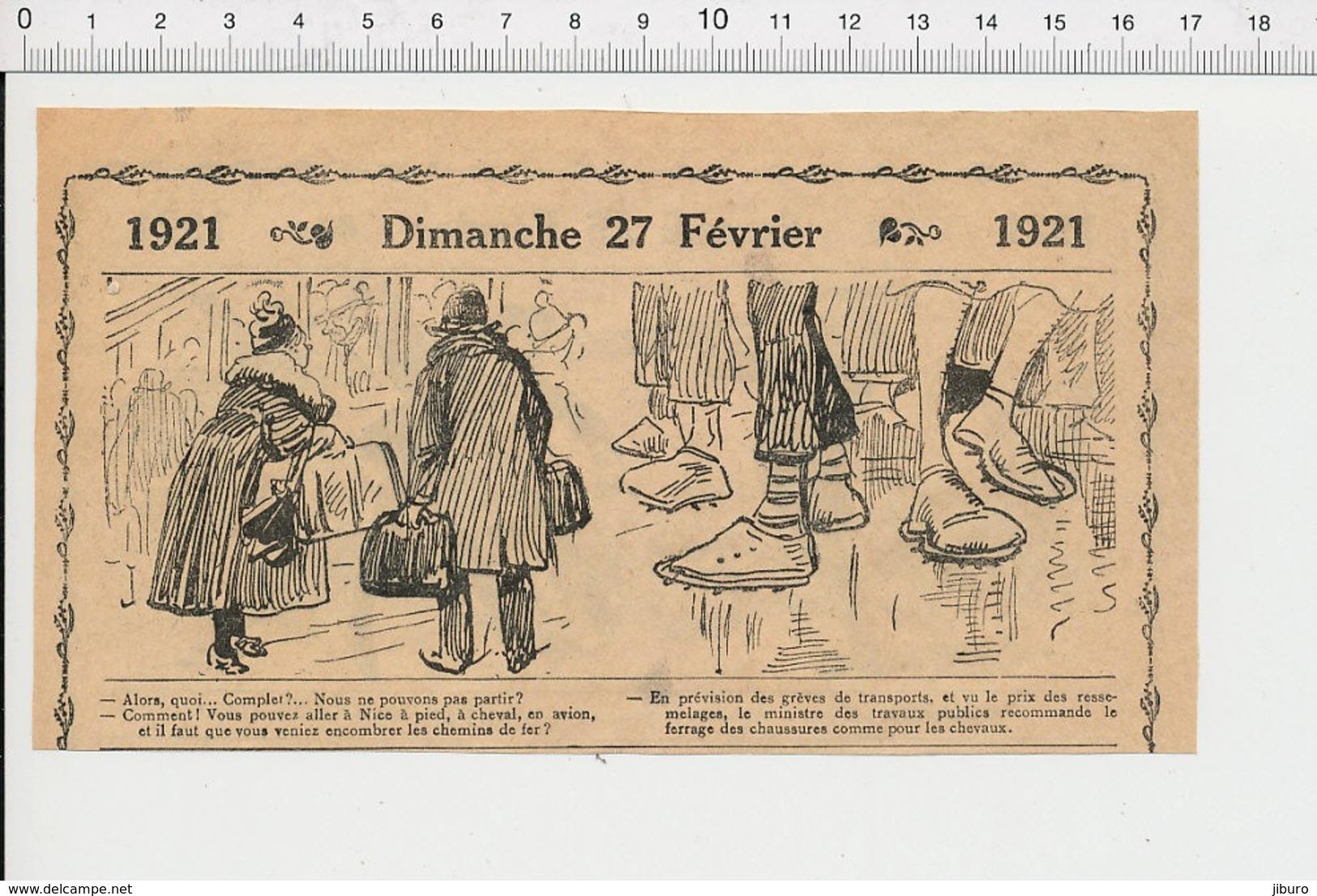 2 Scans Humour Carte De Charbon Chauffage Musique ?? Style Jazz-band ?? Trombonne Trompette Train Chaussures Ferrées226X - Old Paper