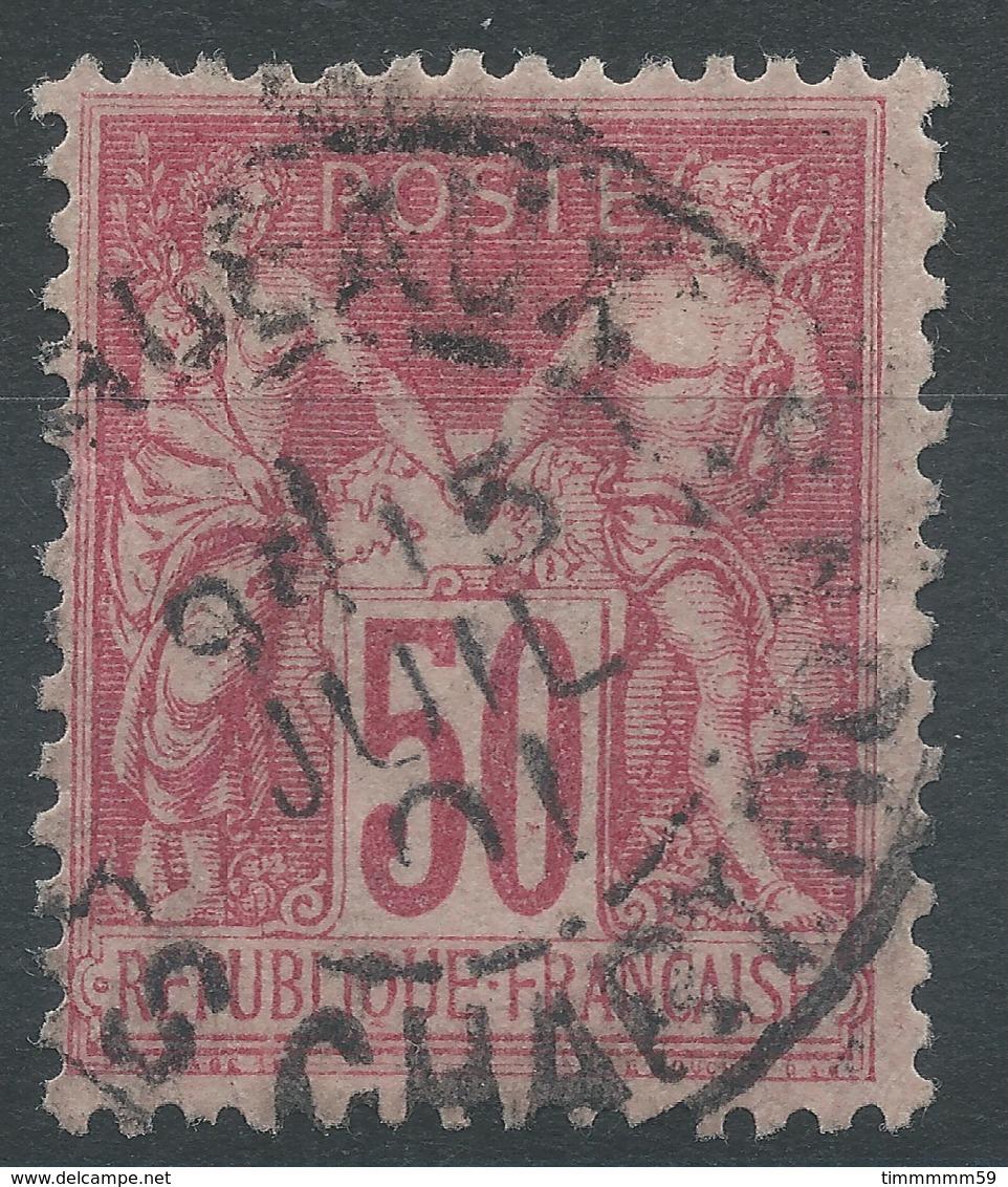 Lot N°49437  N°104, Oblit Cachet à Date De BORDEAUX-les-CHARTRONS, GIRONDE - 1876-1898 Sage (Type II)
