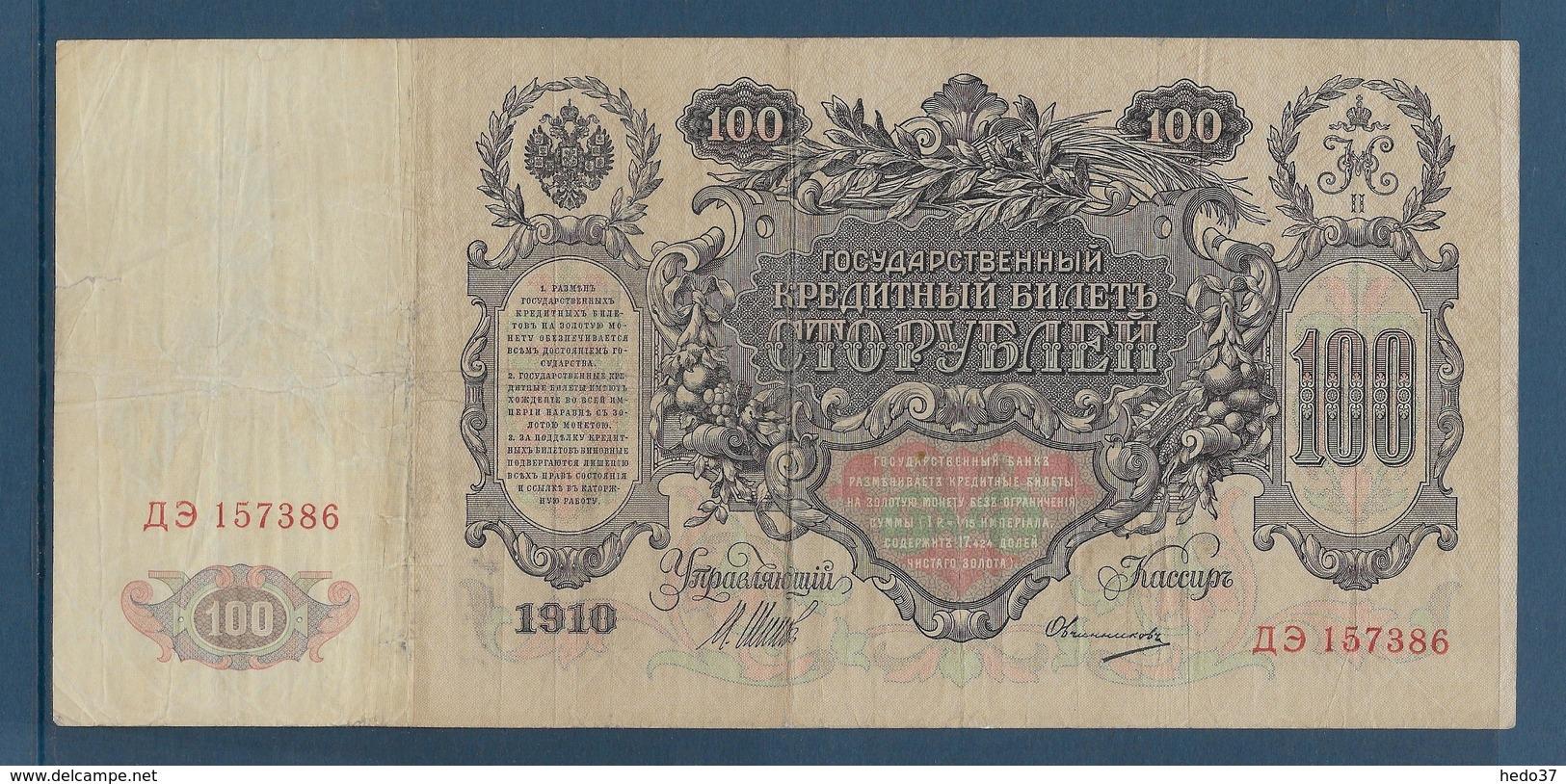 Russie - 100 Roubles - Pick N°13b - TB - Russia