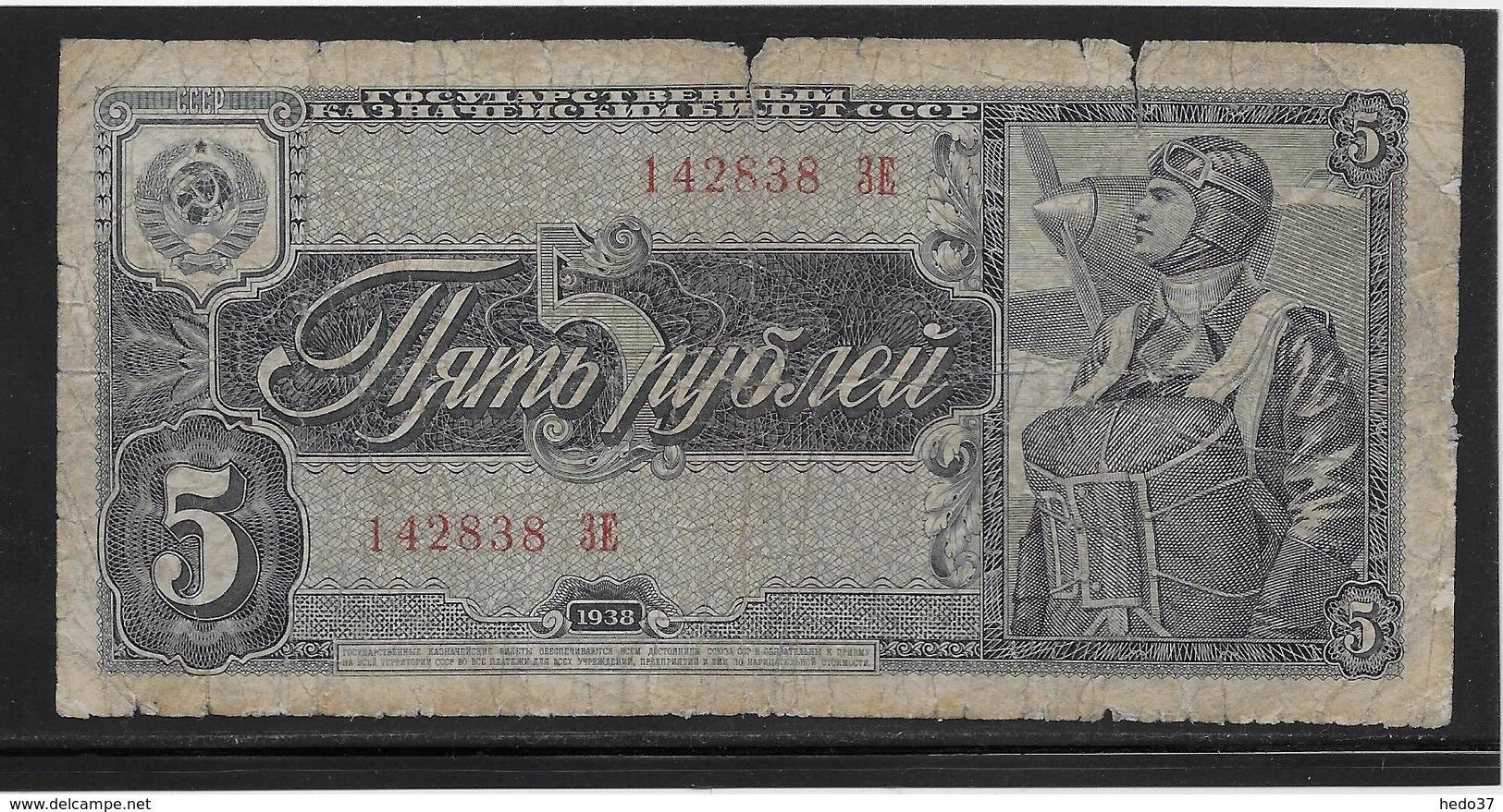 Russie - 5 Roubles - Pick N°215 - B - Russie