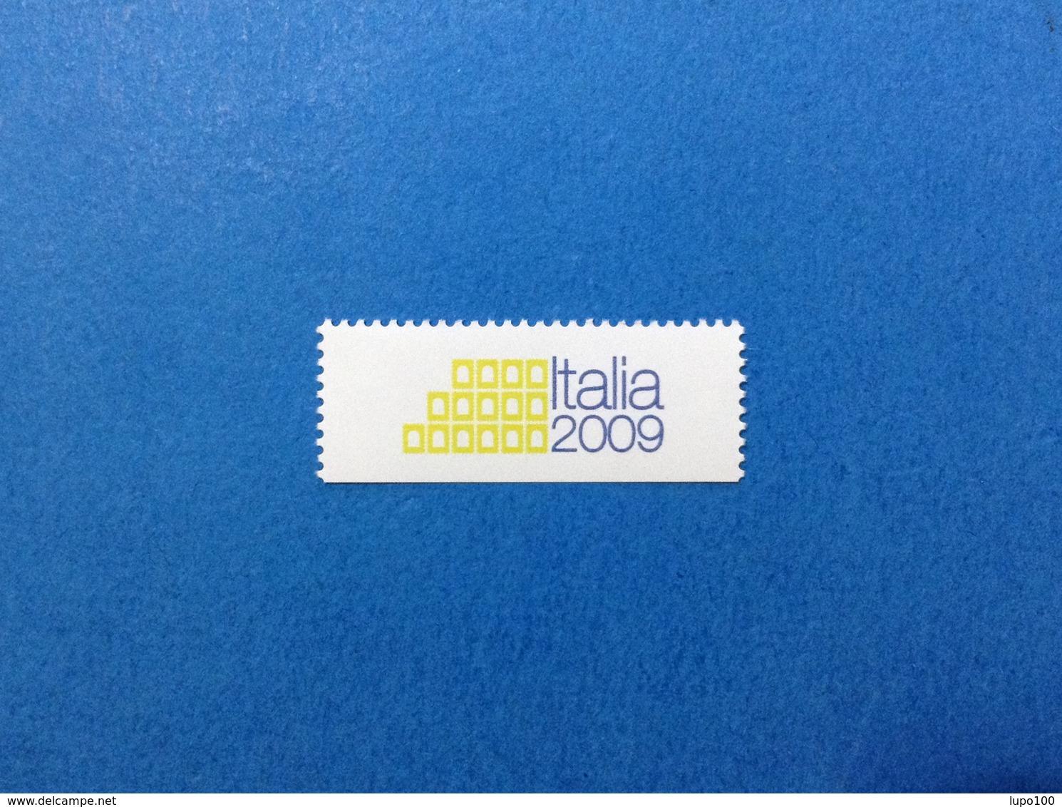 VIGNETTA ETICHETTA TARGHETTA ERINNOFILO BOLLINO CINDERELLA NUOVO MNH** ITALIA 2009 - Cinderellas
