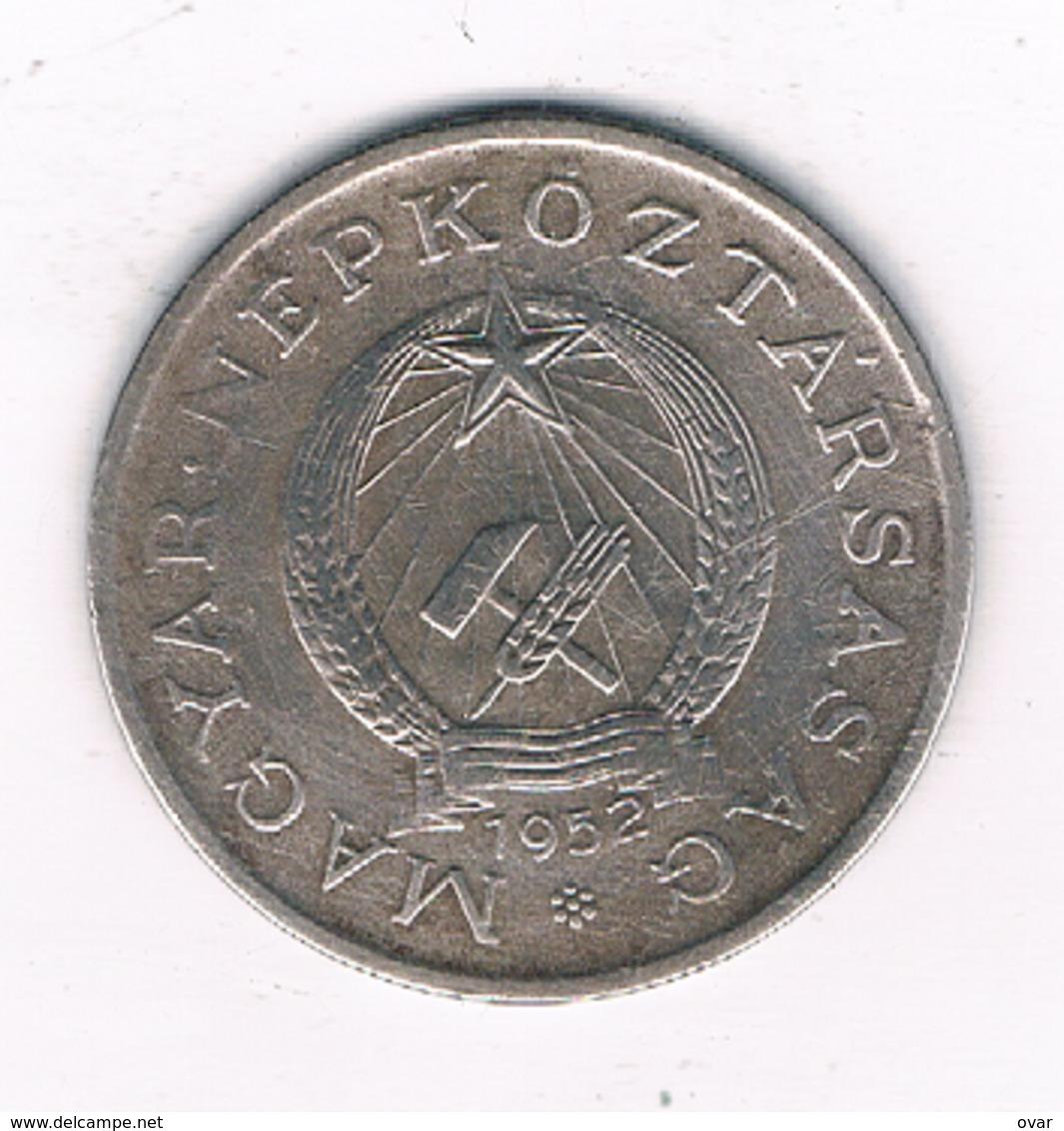 2 FORINT 1952  HONGARIJE /4814/ - Hongrie