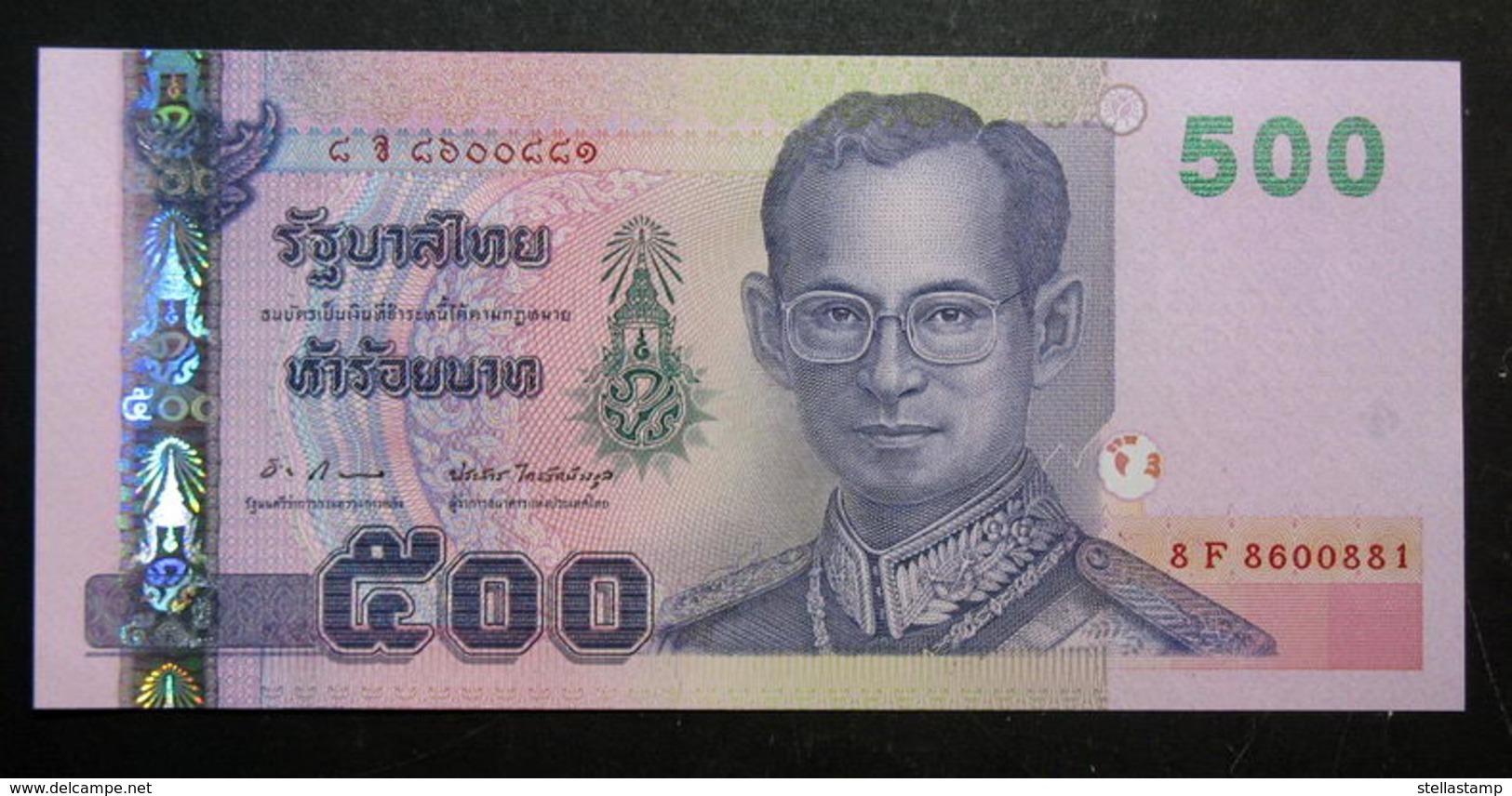 Thailand Banknote 500 Baht Series 15 P#107 SIGN#83 UNC - Thailand