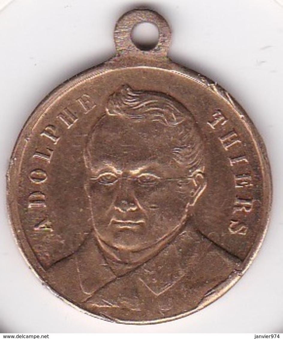Médaille. Souvenir De Thiers, Né à Marseille En 1797, Mort à St Germain En 1877 - Autres