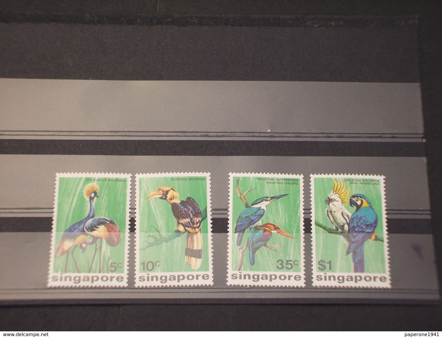SINGAPORE - 1975 UCCELLI 4 VALORI - NUOVI(++) - Singapore (1959-...)