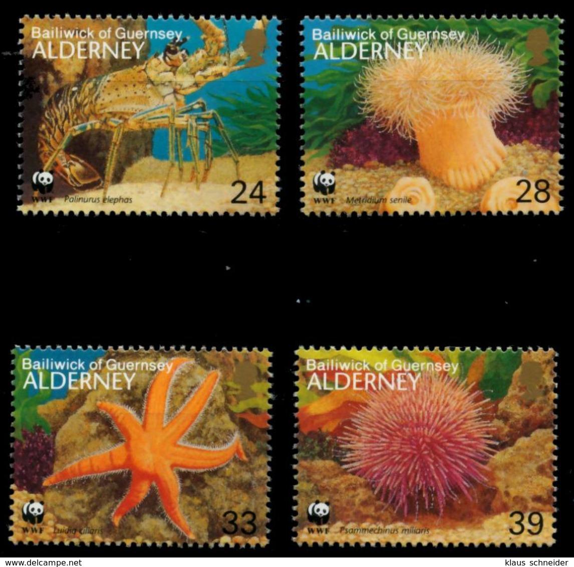 ALDERNEY Nr 61-64 Postfrisch X6A697E - Alderney