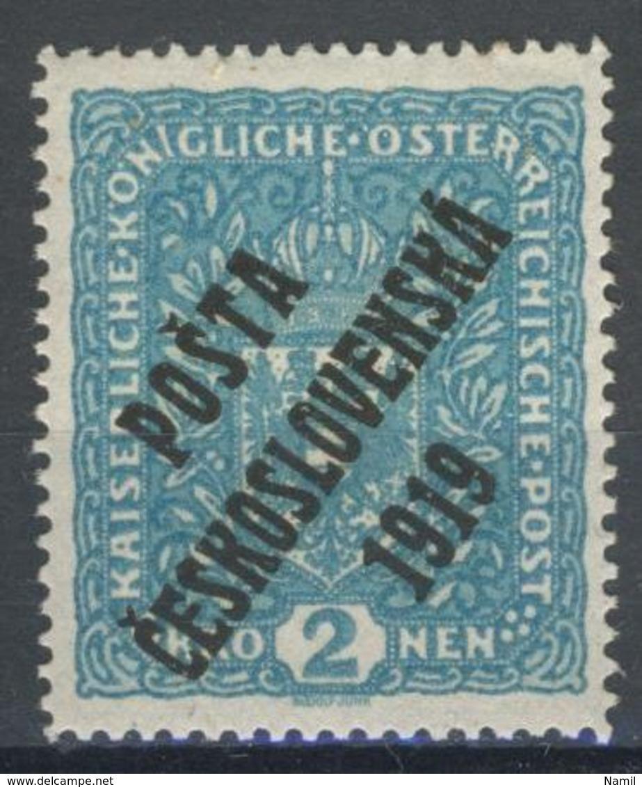 * Tchécoslovaquie 1919 Mi 55 (Yv 58), (MH) Charniere - Czechoslovakia