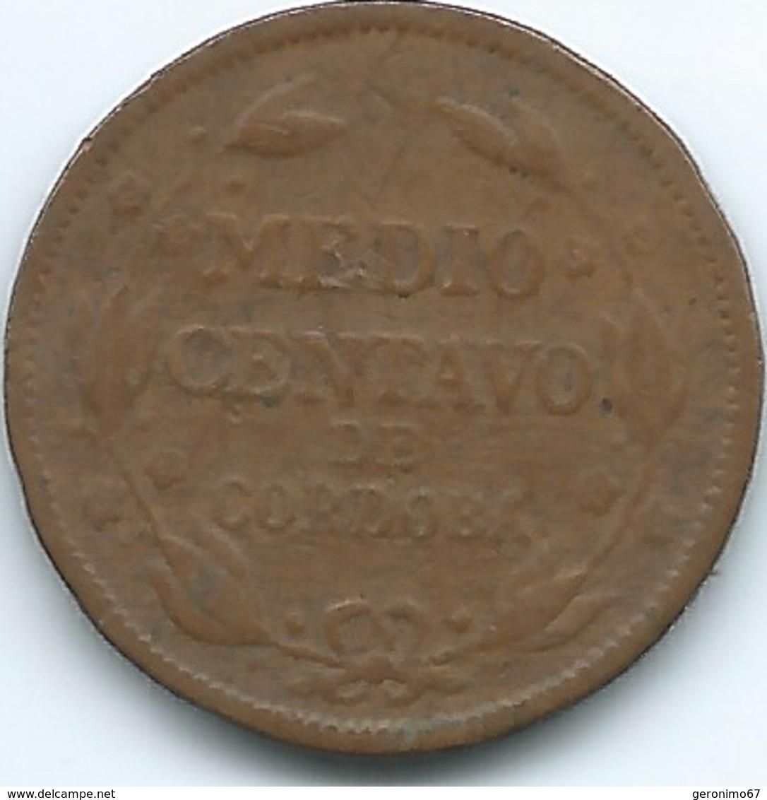 Nicaragua - 1922 -½ Centavo - KM10 - Nicaragua