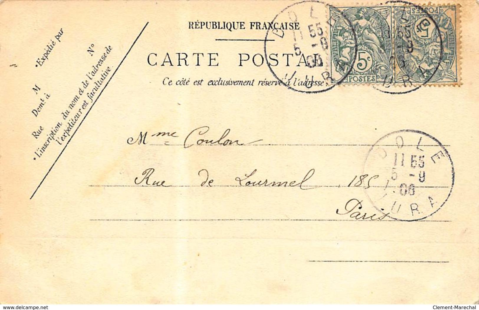 PARCEY : Pont Suspendu De Parcey - Tres Bon Etat - Other Municipalities