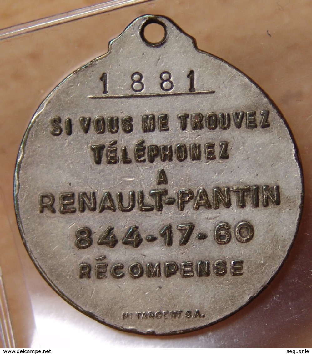 Médaille PARIS - MADRID 1903 Bronze - Professionnels / De Société