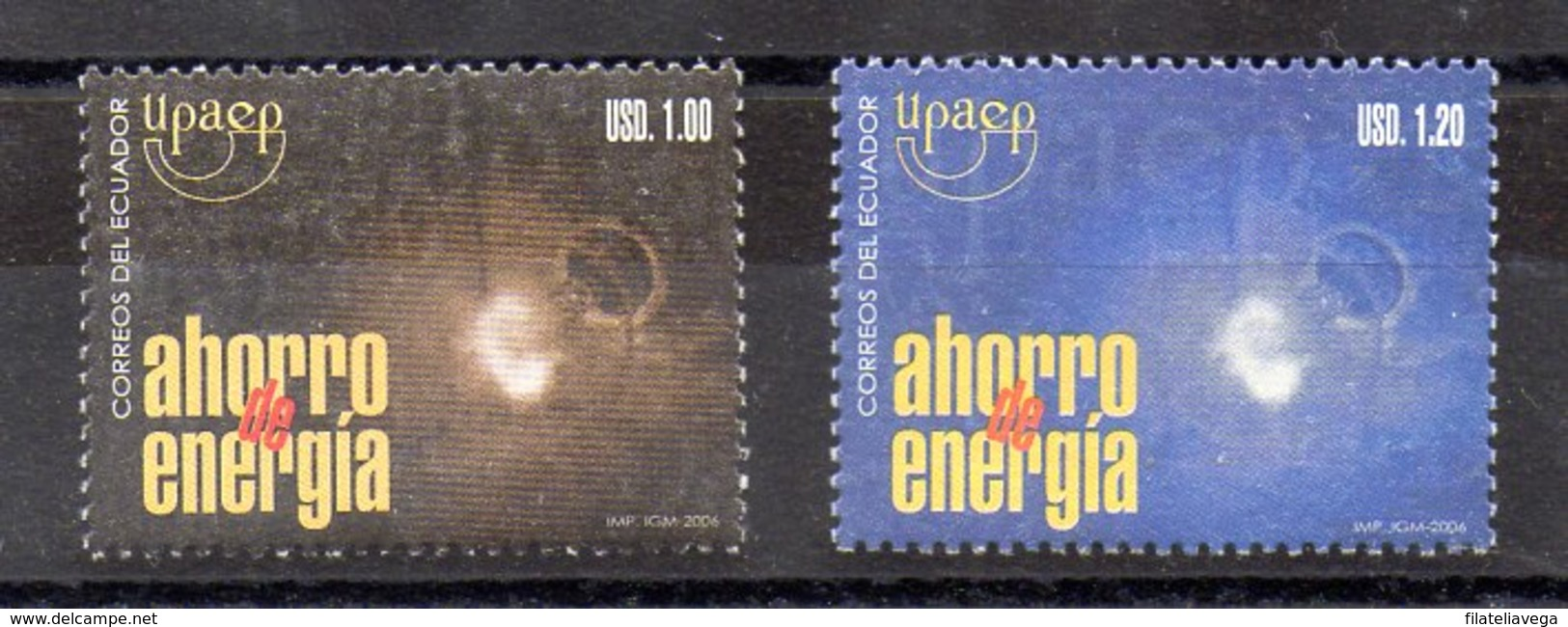 Serie De Ecuador N ºYvert 1926 ** UPAEP - Ecuador