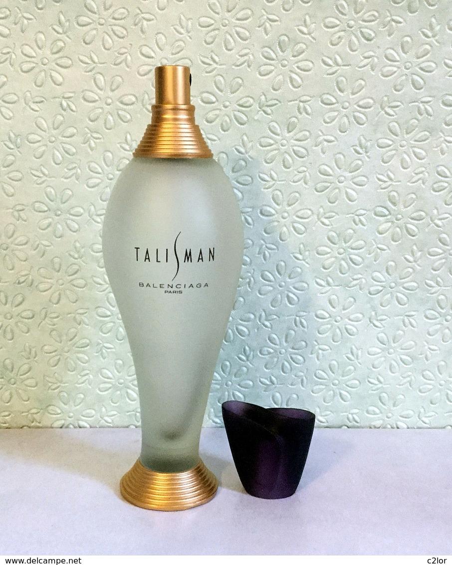 """Flacon Spray  """"TALISMAN  """"  De BALANCIAGA Eau De Parfum 100 Ml Vide/Empty Pour Collection - Bottles (empty)"""
