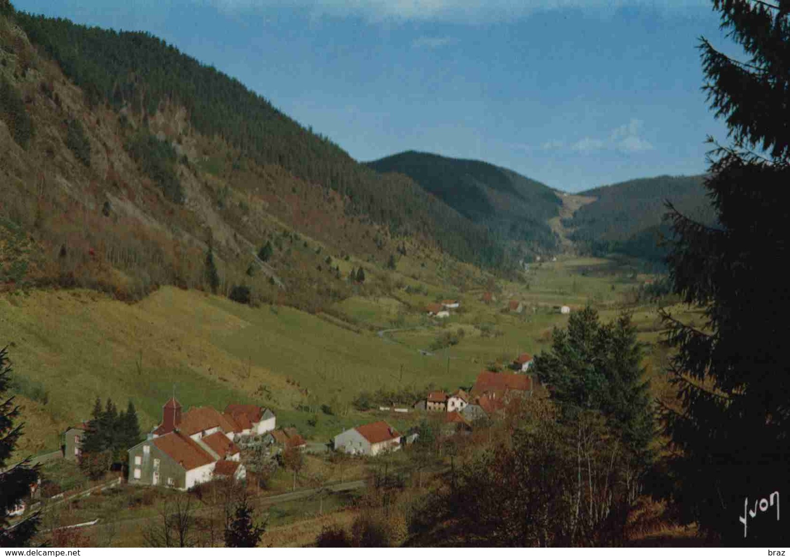 CPM  Vosges Vallée Du Valtin - France