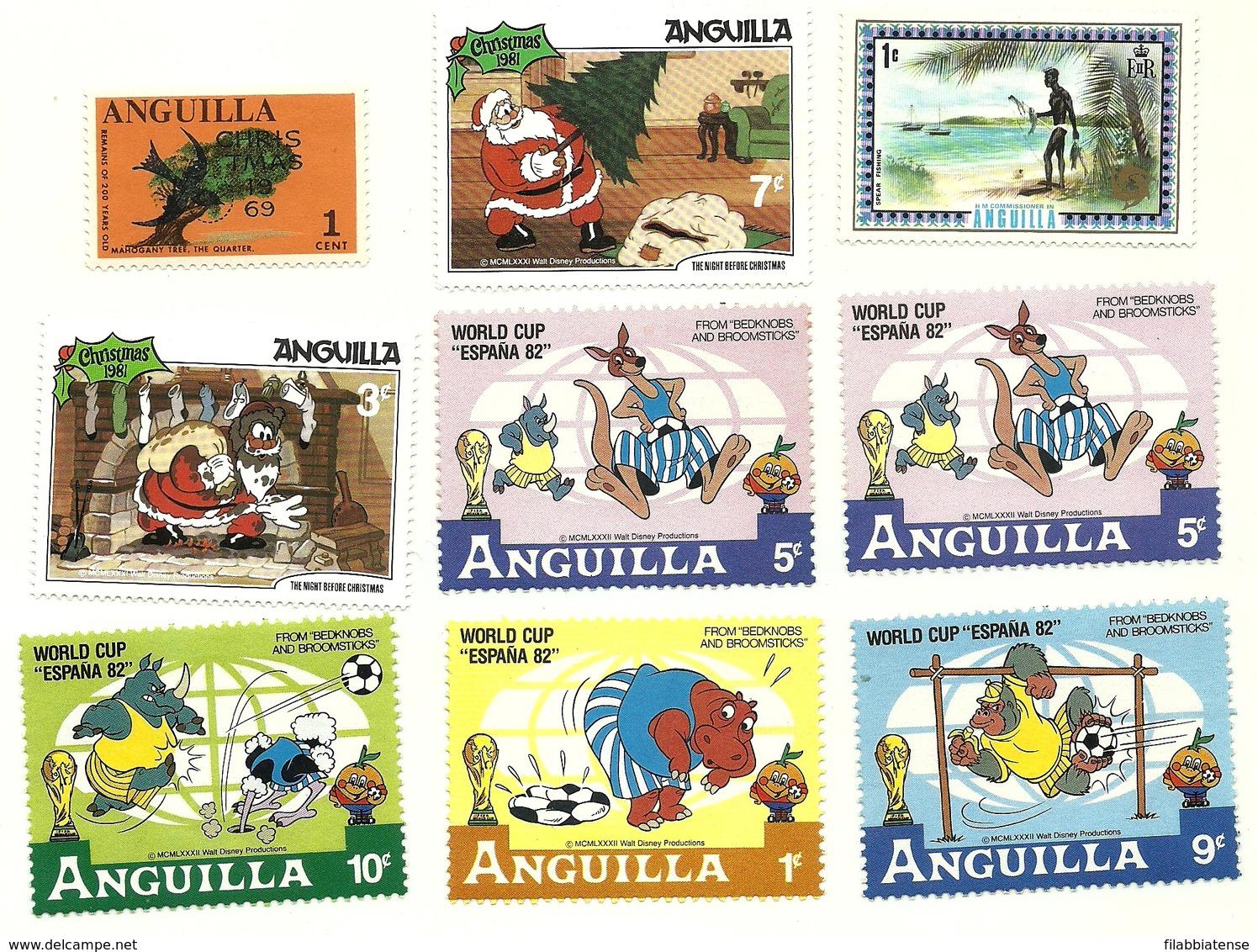 Anguilla - Lotto Francobolli   M5 - Anguilla (1968-...)