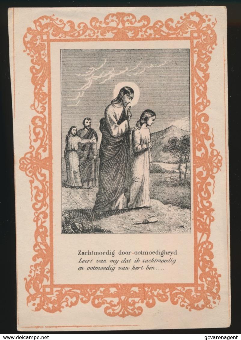 H.PRENTJE IMAGE PIEUSE  11 X 7.5 CM   ZACHTMOEDIG - Images Religieuses