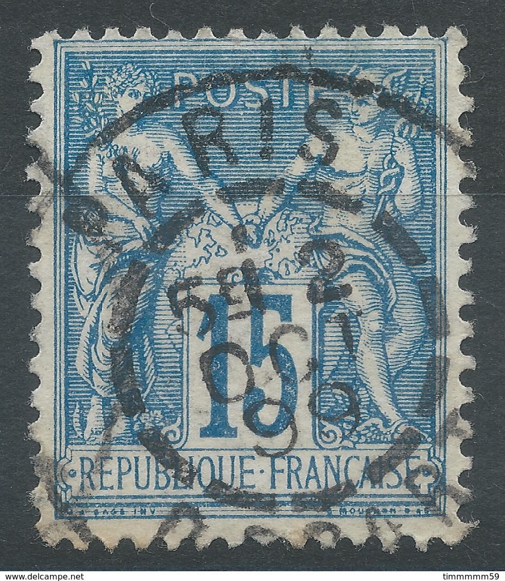 Lot N°49517  N°90, Oblit Cachet à Date De PARIS DEPART - 1876-1898 Sage (Type II)