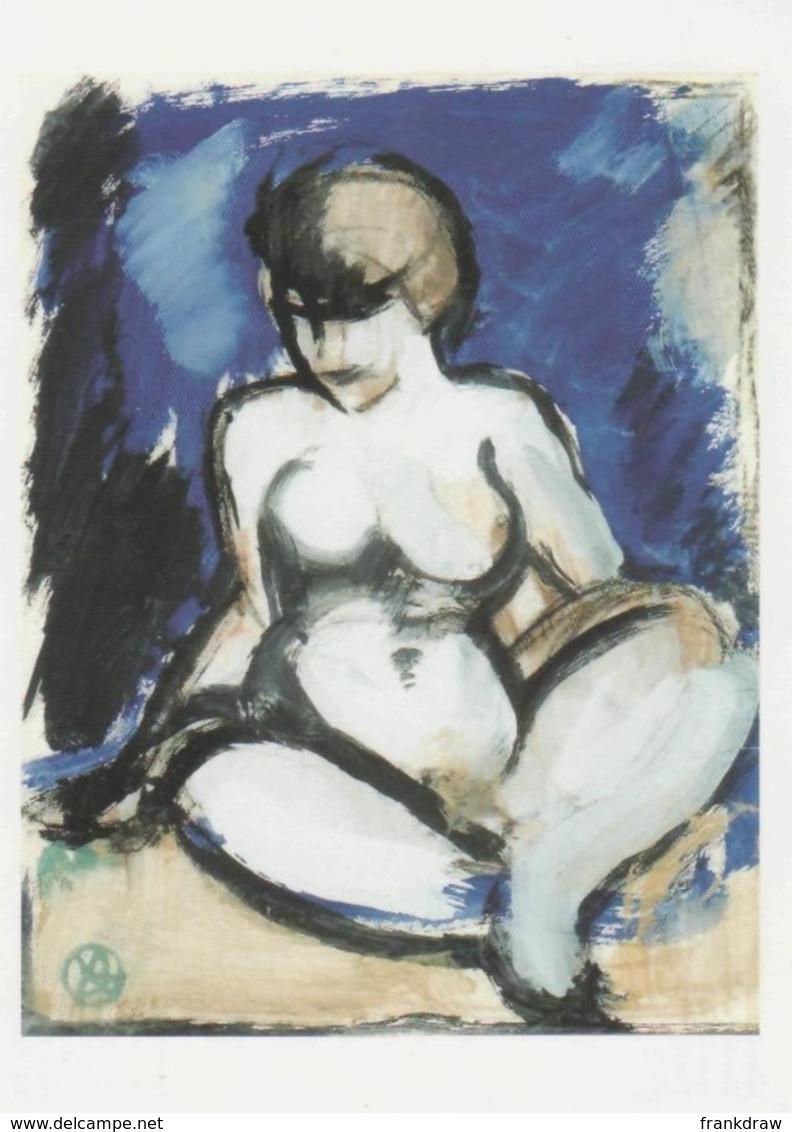 Postcard - Art - John Duncan Fergusson - Blue Nude - Card No..mu2697 New - Postcards