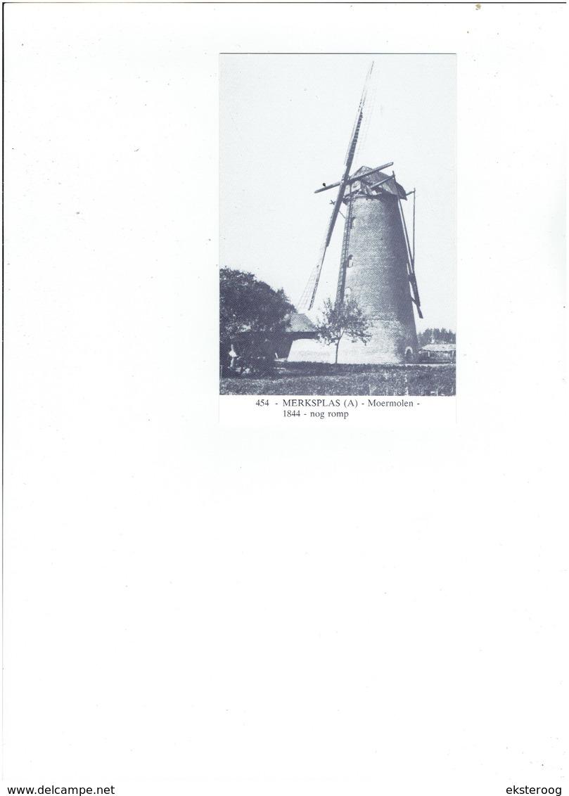 Merksplas 454 - Moermolen - 1844- Nog Romp - Hoogstraten