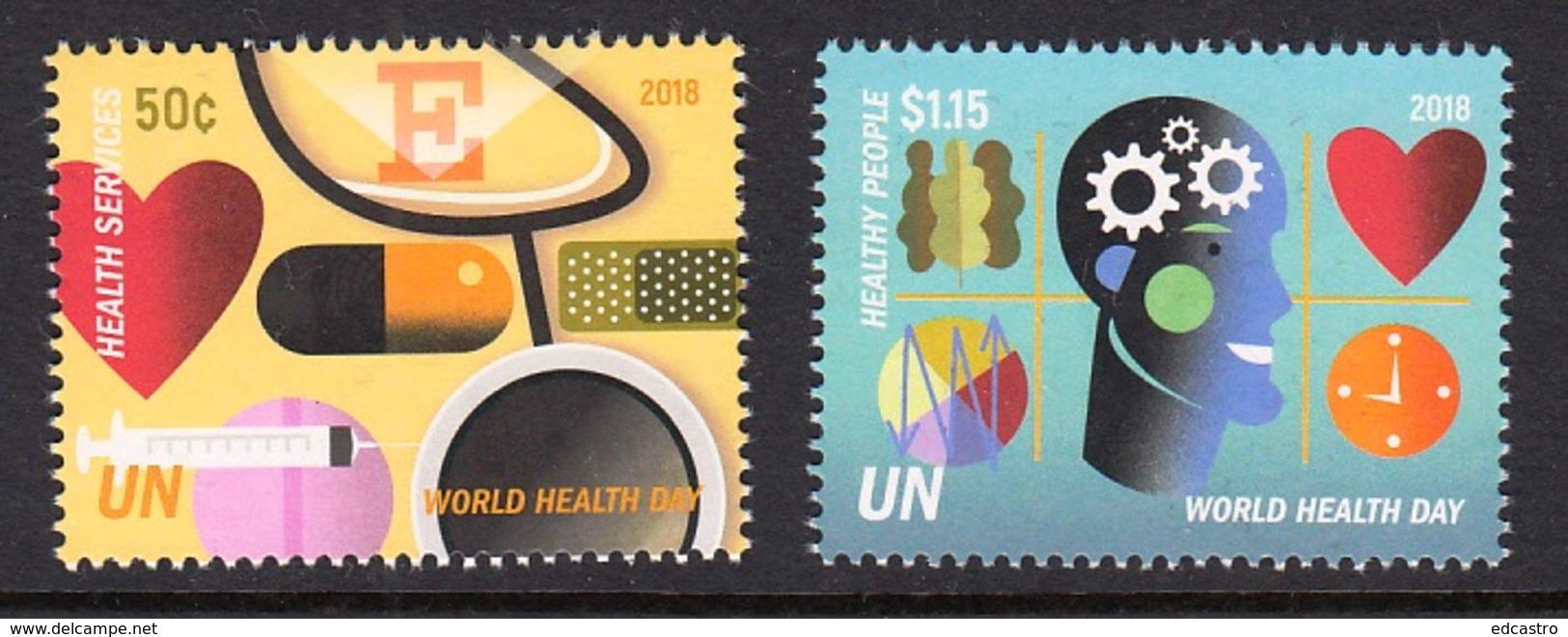 4.- UNITED NATIONS 2018 WORLD HEALTH DAY - New York - Sede De La Organización De Las NU