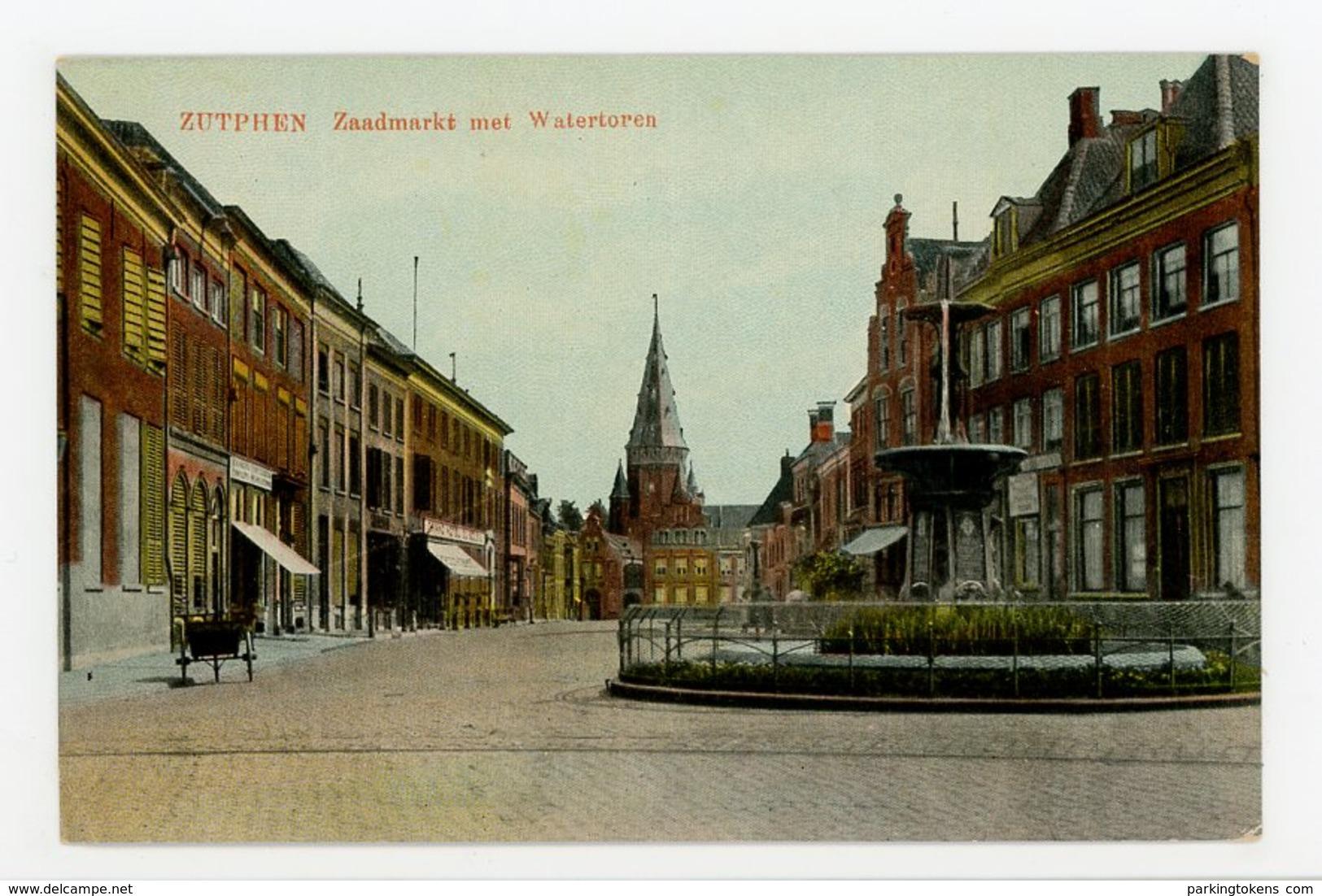 D078 - Zutphen - Zaadmarkt Met Watertoren - Uitg Bornholt - Zutphen