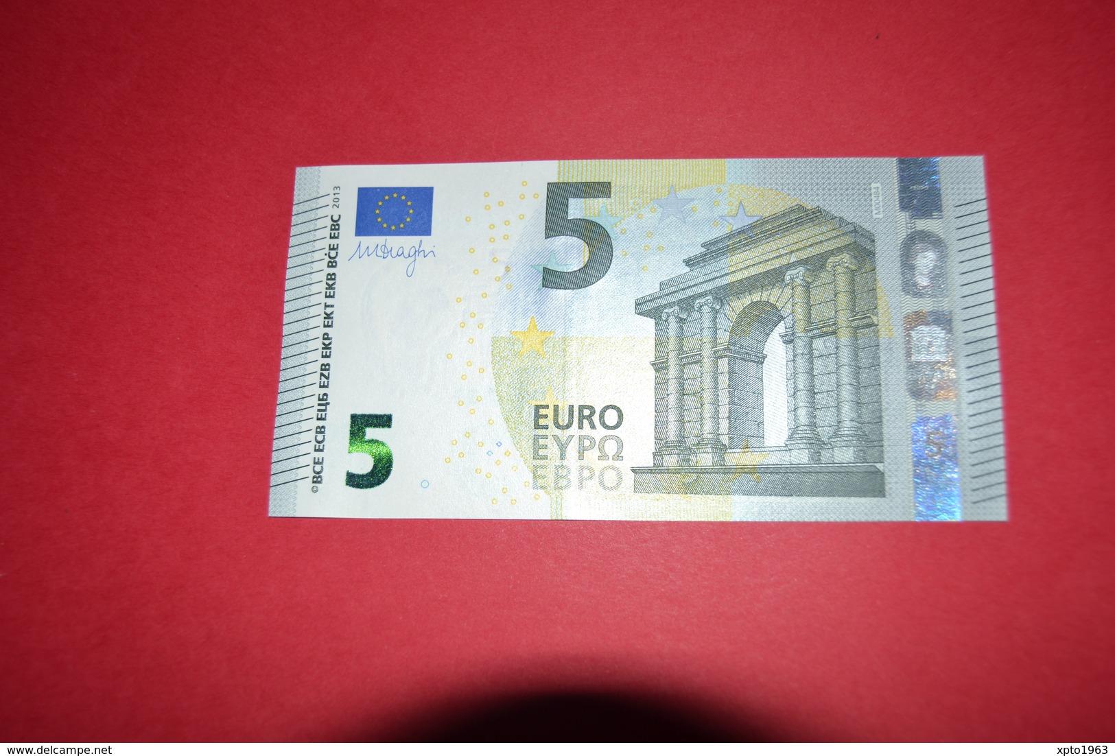 5 EURO M004 B4 PORTUGAL M004B4 - Serial Number MA2181669248 - UNC FDS NEUF - EURO