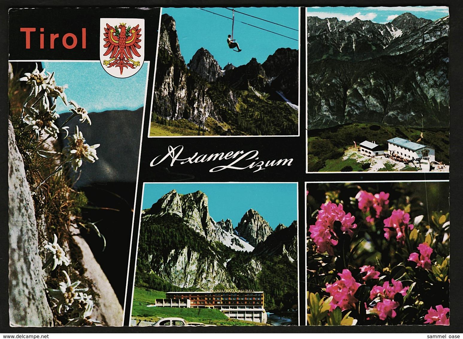 Axamer Lizum Bei Axams -  Mehrbild-Ansichtskarte Ca. 1972    (11131) - Autriche