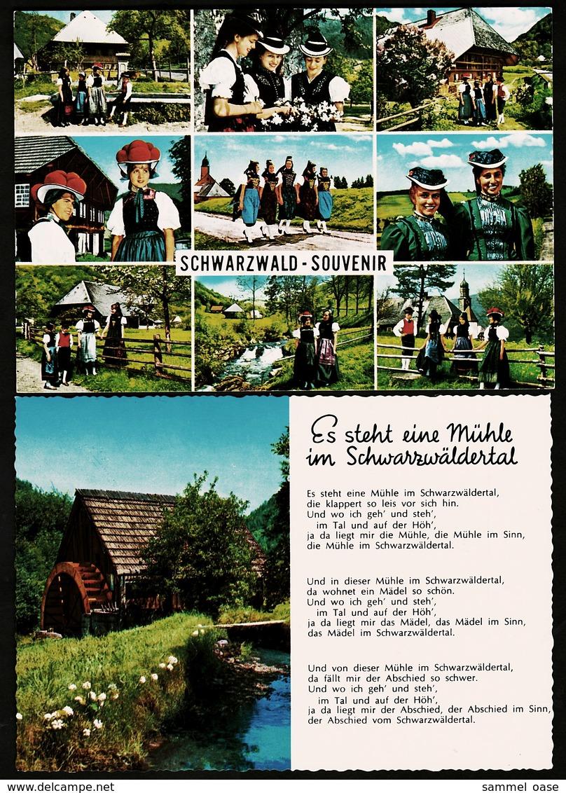 2 AK : Schwarzwald-Souvenir  -  Es Steht Eine Mühle Im Schwarzwäldertal  -  Ansichtskarten Ca. 1975    (11154) - Titisee-Neustadt