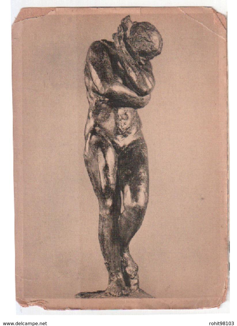 Picture Postcard Of Art , Sculpture By Auguste Rodin, 1881-ca.1899, Éve, Bronze , Lot # FR158 - Sculptures