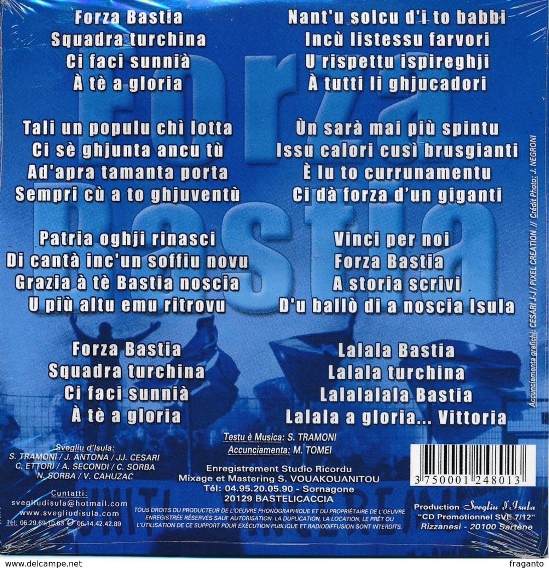 CD Corse Forza Bastia Neuf Sous Blister - Musik & Instrumente