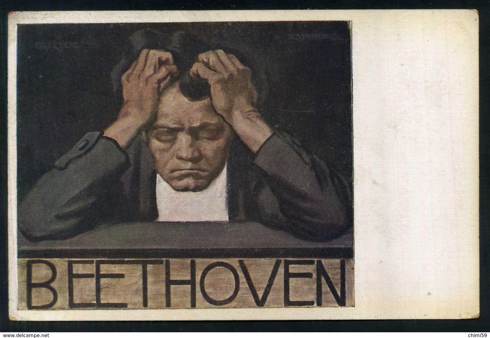 BEETHOVEN - Ediz. B. K. W. I. Nr. 909-1 - Cantanti E Musicisti