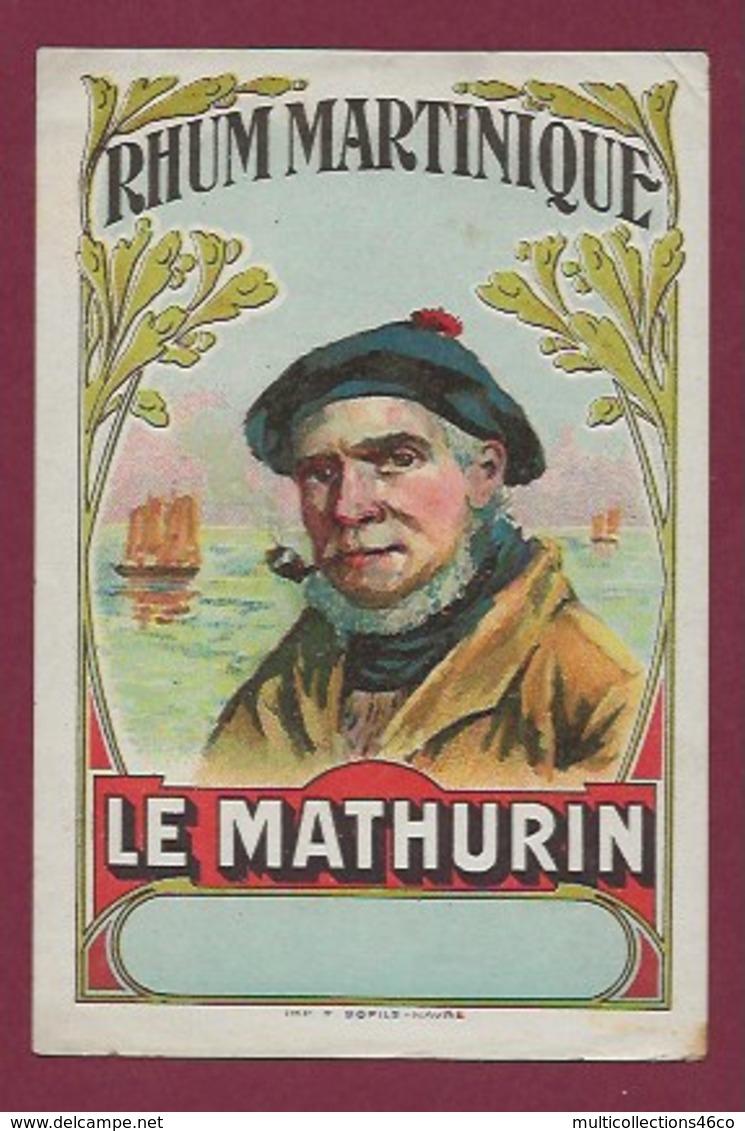 200619B - ETIQUETTE ALCOOL RHUM MARTINIQUE Le Mathurin - Rhum