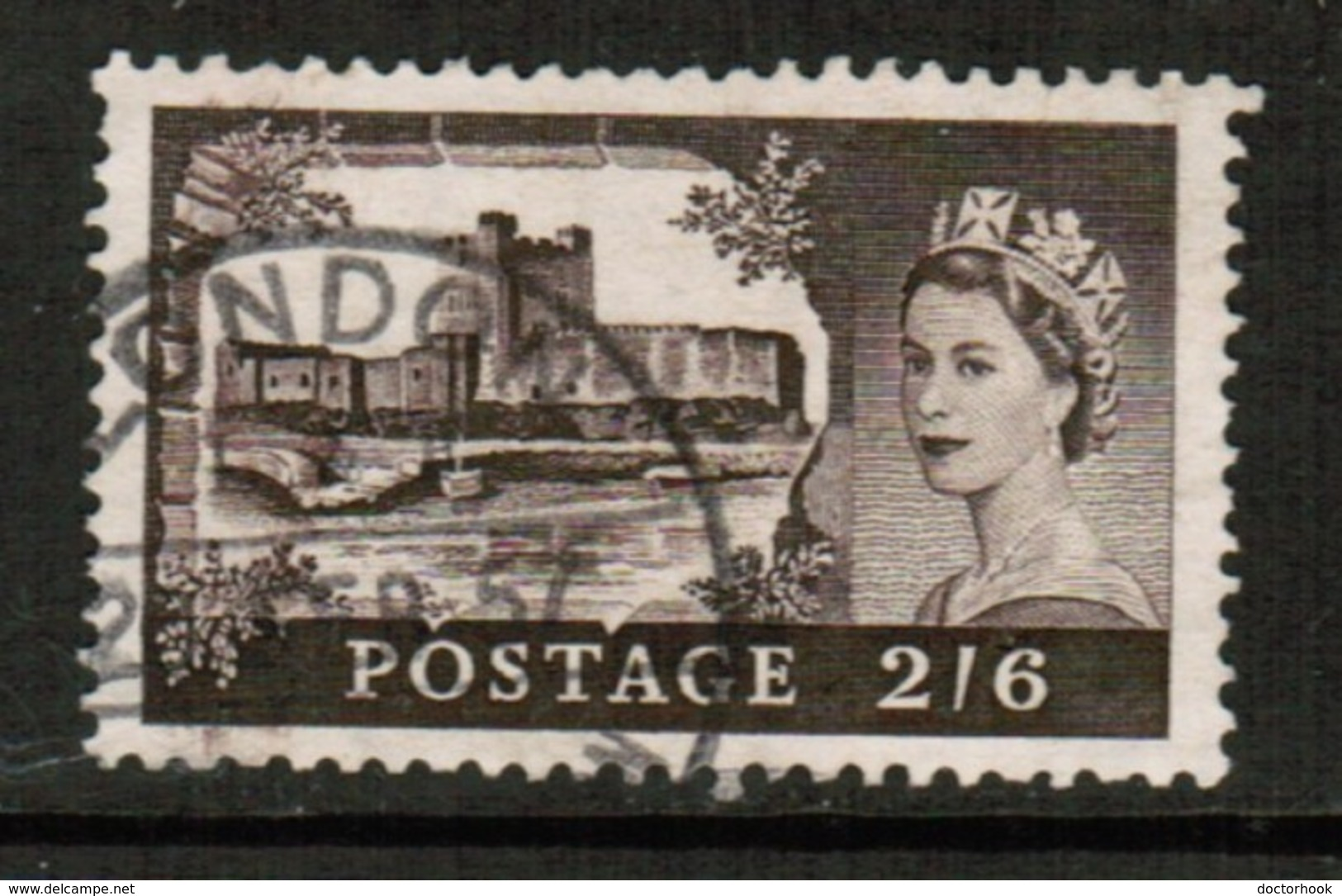 GREAT BRITAIN  Scott # 309 VF USED  (Stamp Scan # 515) - 1952-.... (Elizabeth II)