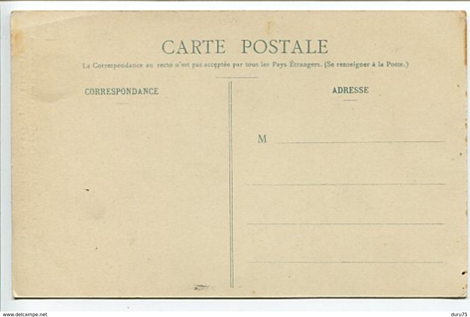 CPA * MONTANA Madame Femme La Plus Forte Du Monde Déchirant Paquet 112 Cartes à Jouer - Spectacle