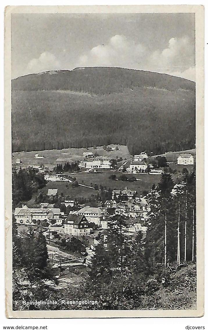Czechoslovakia 1945 Censored Riesengebirge Picture Postcard To Yugoslavia Eb - Covers & Documents