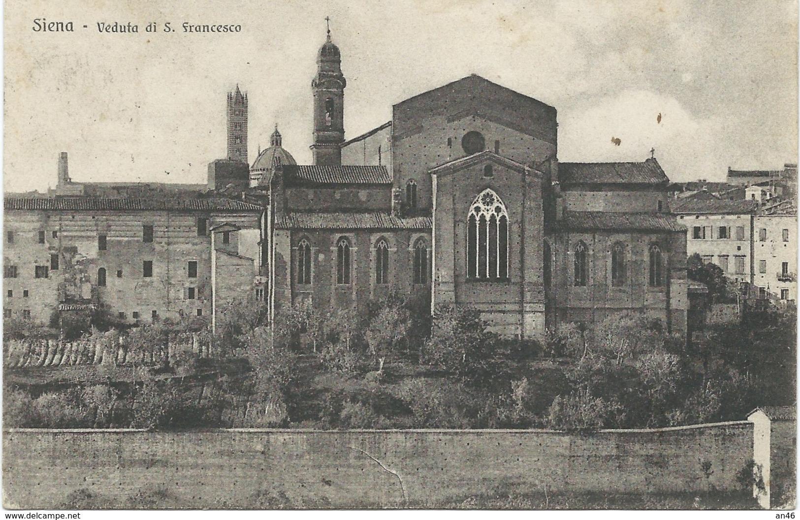 SIENA IVEDUTA S. FRANCESCO VG AUTENTICA 100% - Siena