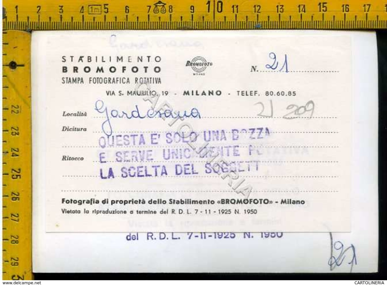 Brescia Trento Lago Di Garda Gardesana - Brescia