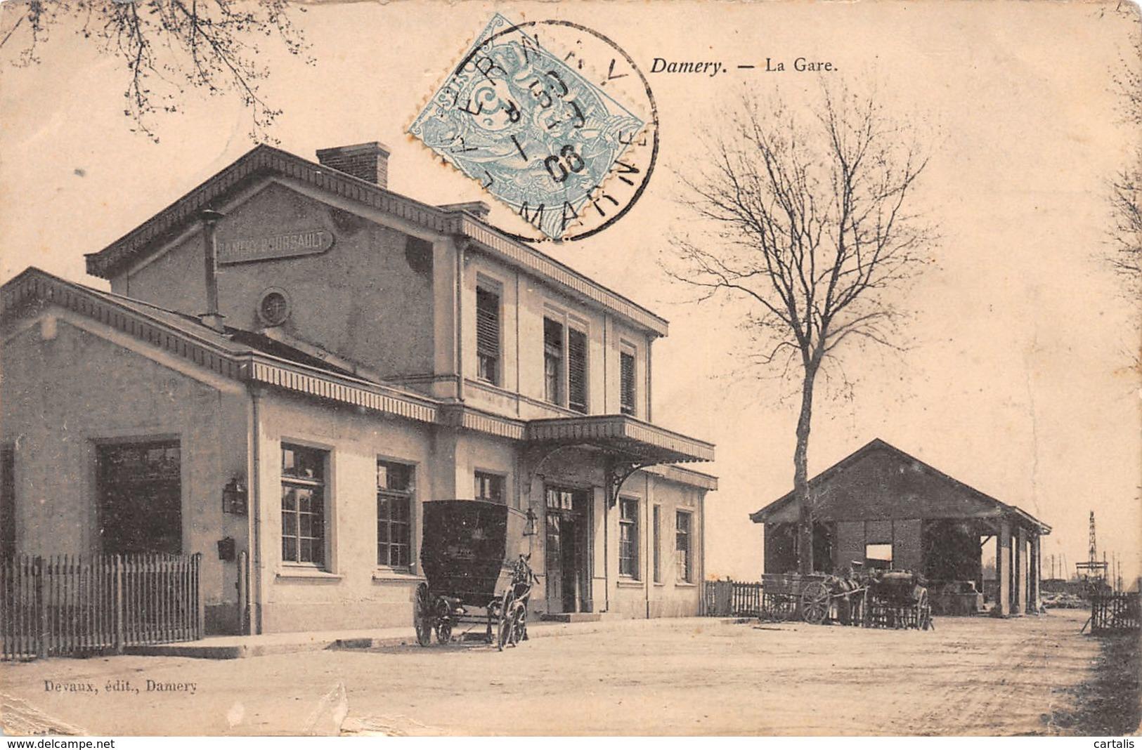 51-DAMERY-N°3744-E/0071 - Sonstige Gemeinden