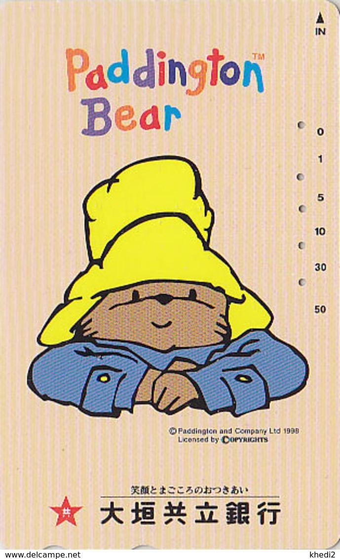 Télécarte Japon / 110-016 - BD Comics - OURS PADDINGTON Songeur 2 - TEDDY BEAR Japan Phonecard - BÄR - 775 - BD