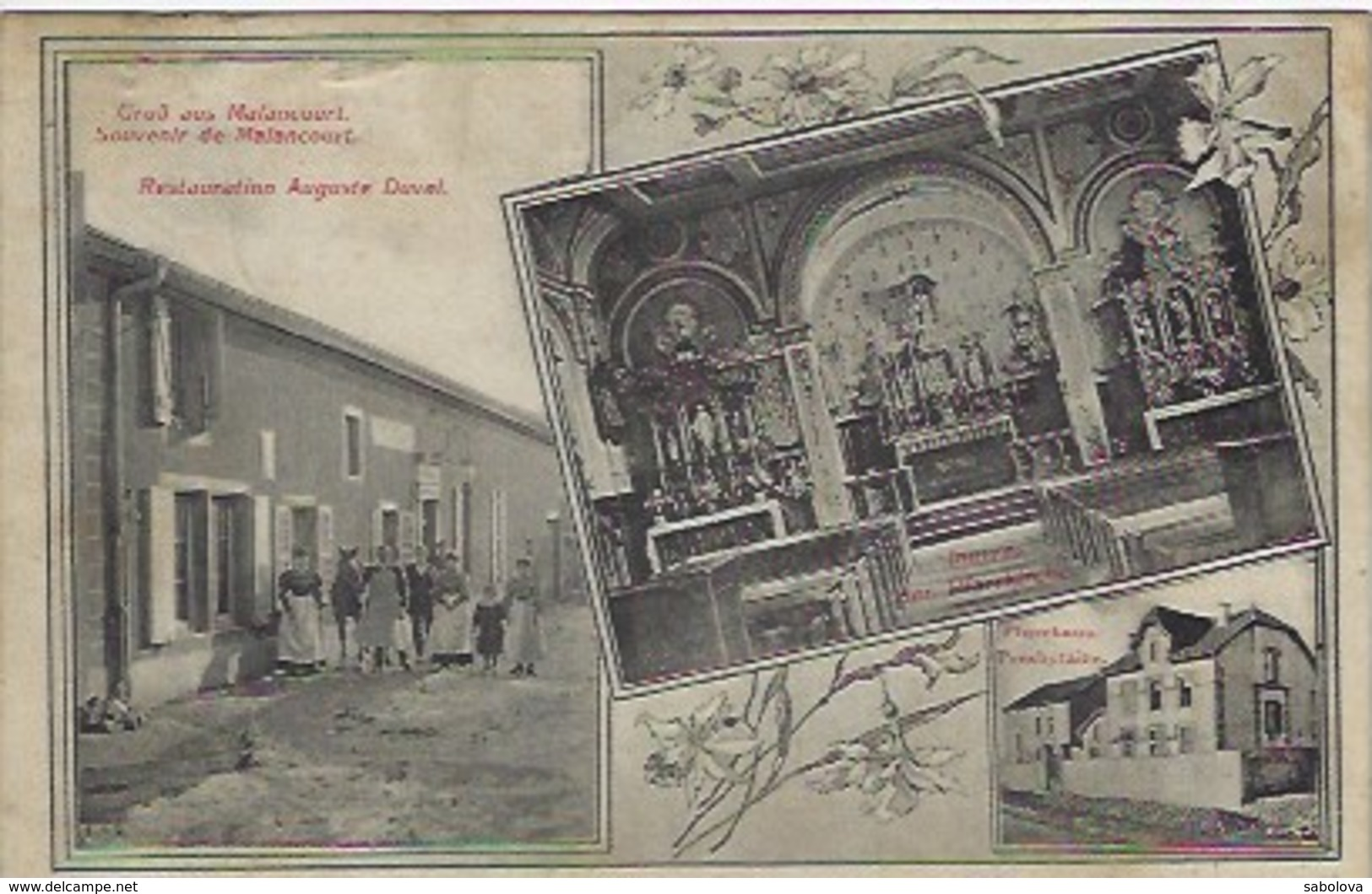 Malancourt Près Metz Restauration Auguste Duval - Saint-Avold