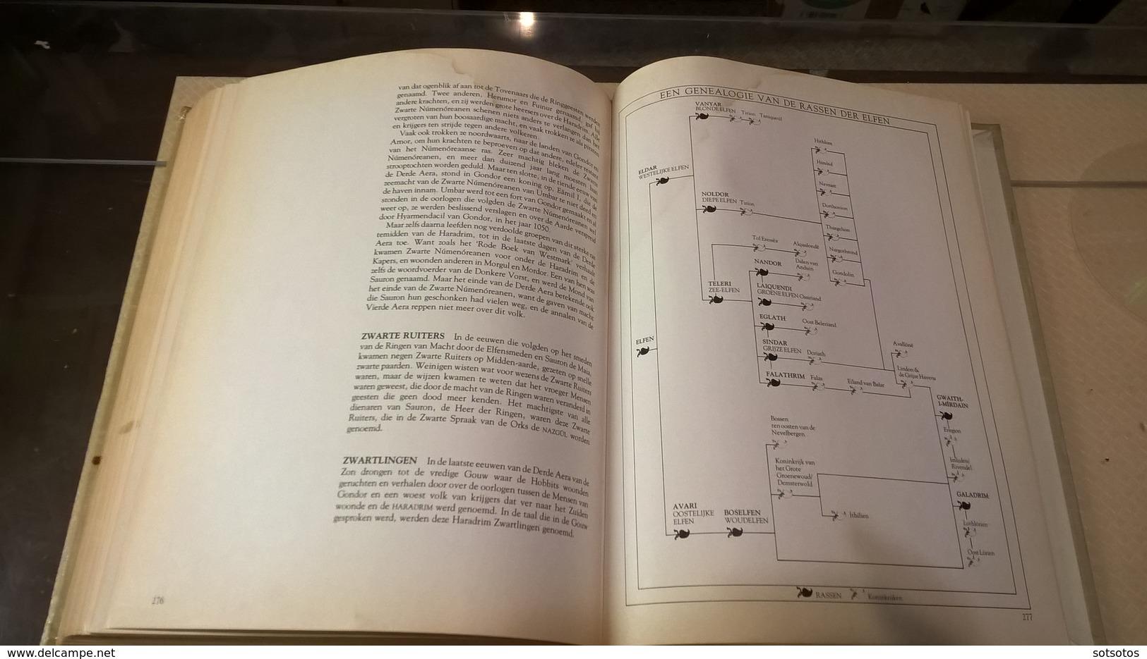 EEN TOLKIEN BESTIARIUM: David DAY – Geillustreerd Naslagwerk – 288 Pgs (22x28 Cent) - Illustrated Reference Work - Dictionaries
