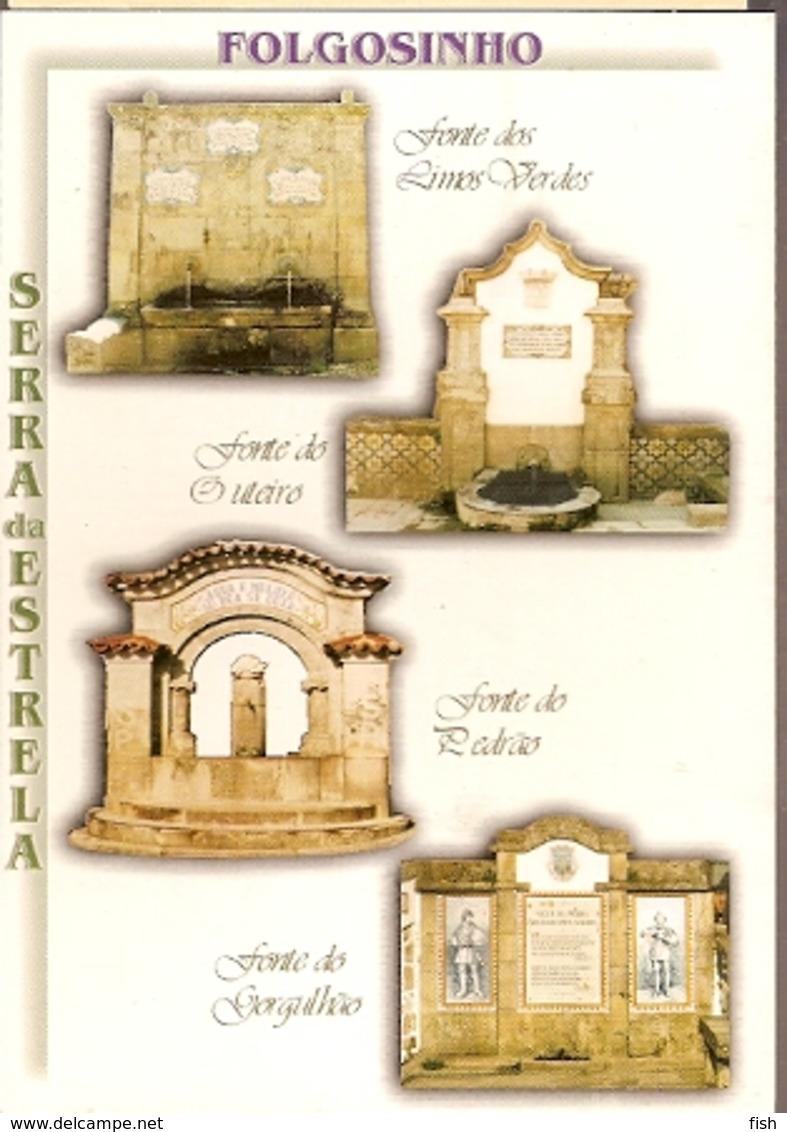 Portugal ** & Postal, Fonts Of Folgosinho, Serra Da Estrela, Cá Da Terra Edition  (6002) - Monumenten