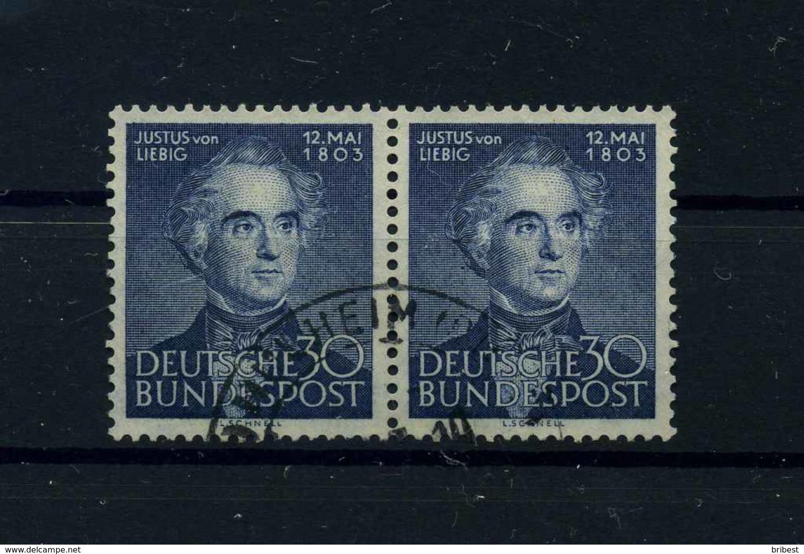 BUND 1953 Nr 166 Gestempelt (100772) - BRD