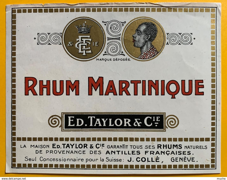 10683 - Rhum Martinique Ed.Taylor - Rhum