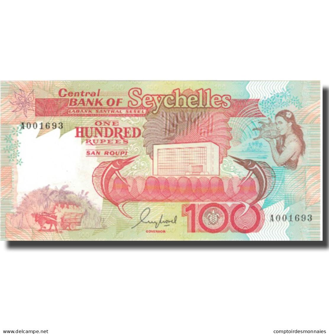 Billet, Seychelles, 100 Rupees, Undated (1989), KM:35, NEUF - Seychellen