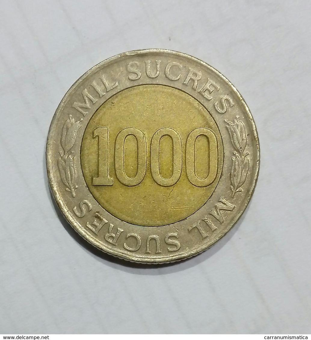ECUADOR - 1000 SUCRES (1997) - Ecuador