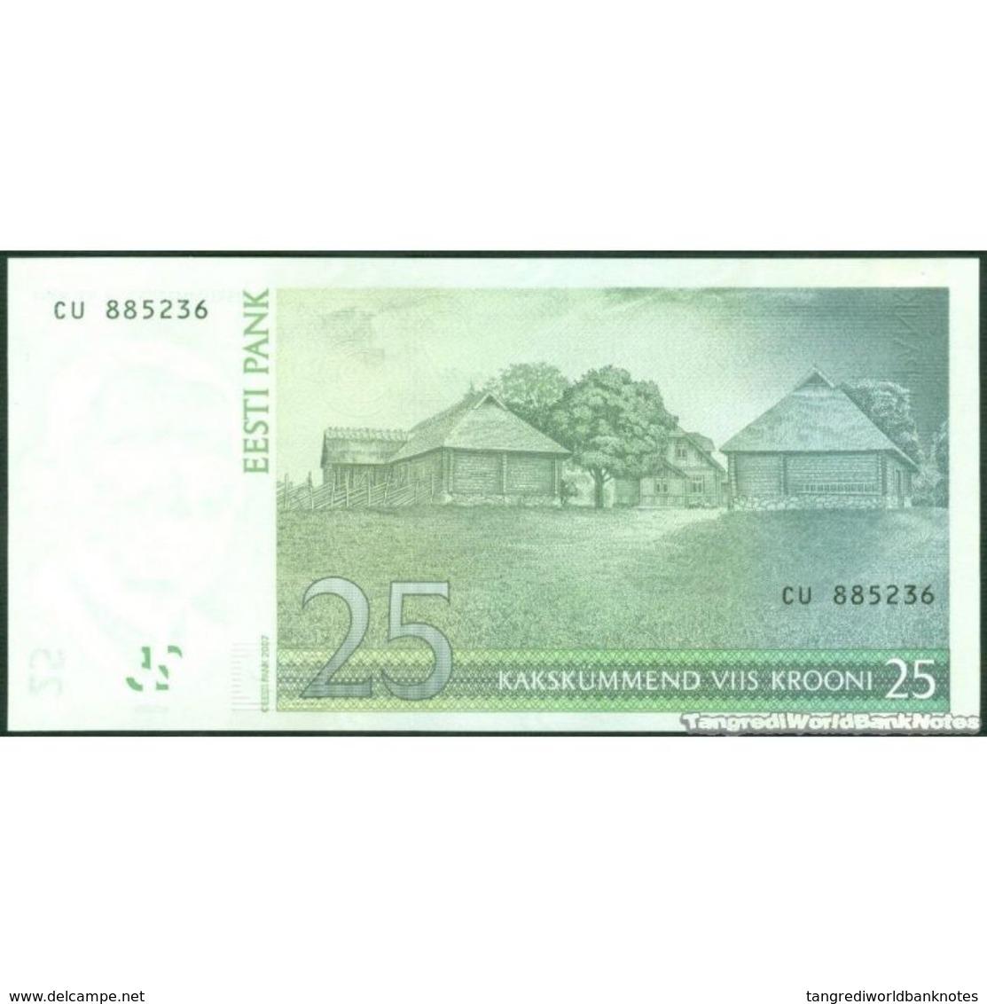 TWN - ESTONIA 87 - 25 Krooni 2007 Prefix CU UNC - Estonia