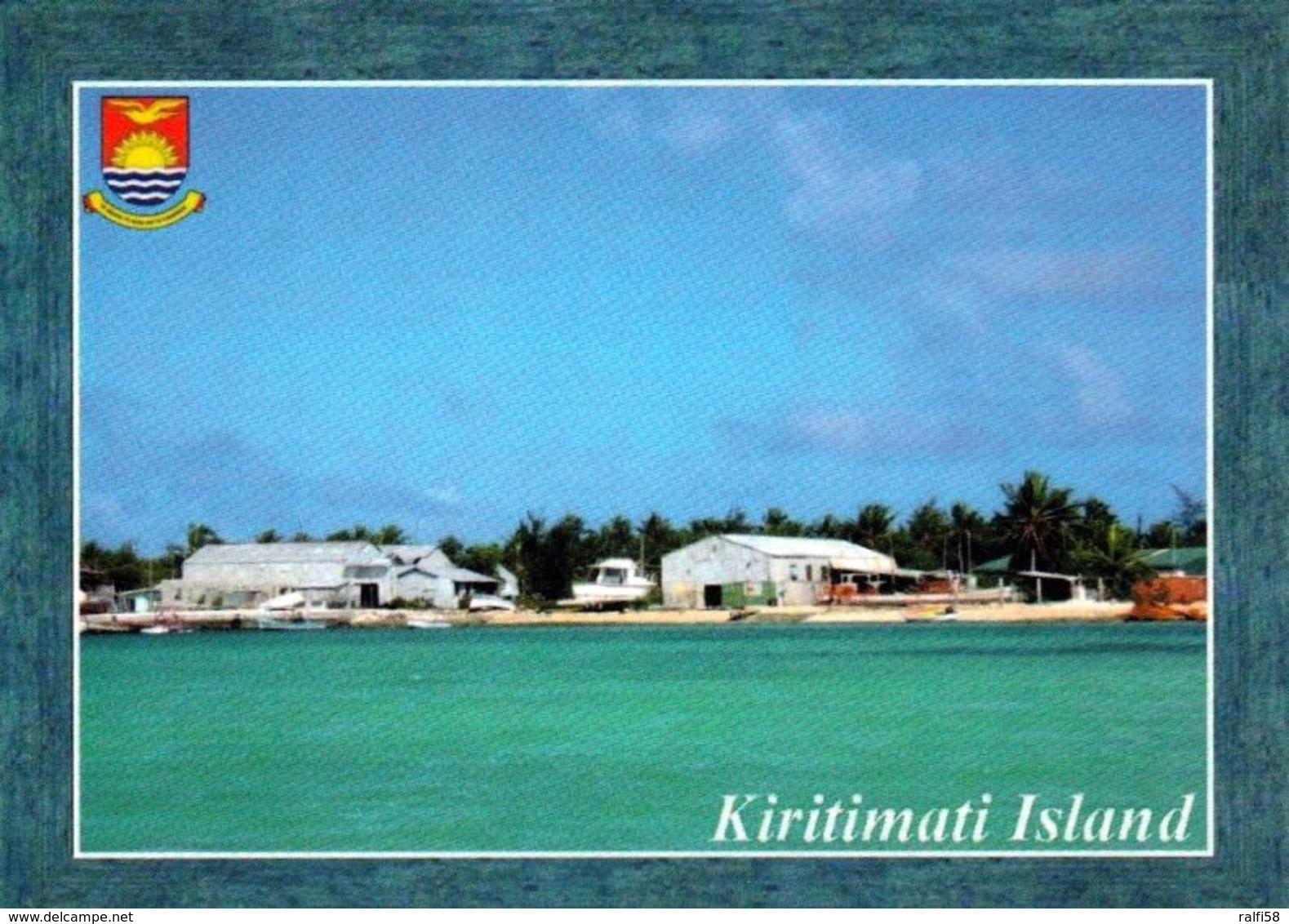 1 AK Kiribati * Kiritimati - Früher Christmas Island, Von Allen Koralleninseln Der Erde Hat Kiritimati D. Gr. Landfläche - Kiribati