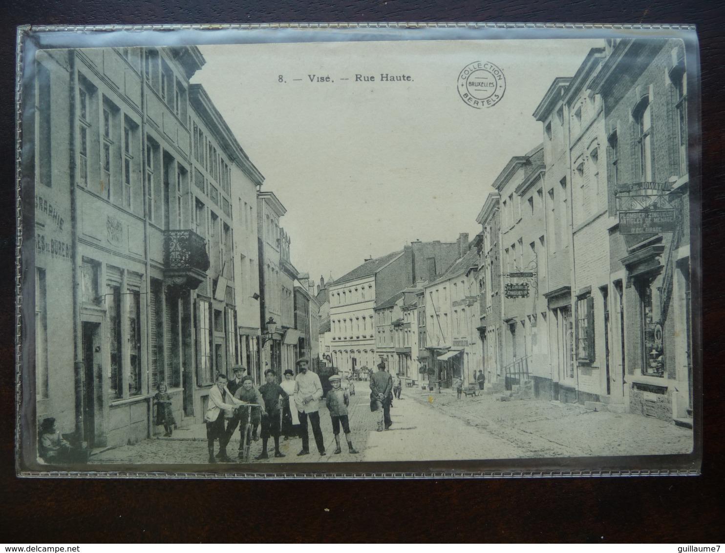 CPA - Visé - Rue Haute - Collection Bertels - Visé