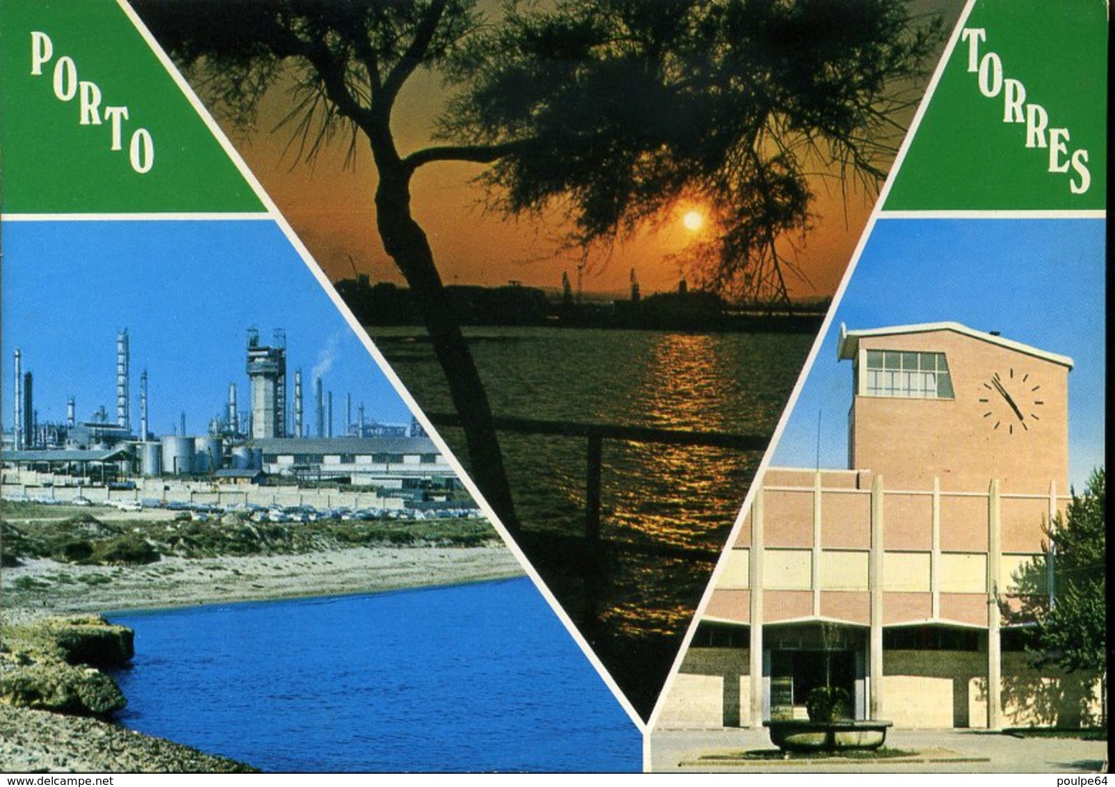 CPM - Porto Torres : Vues Diverses - Italia